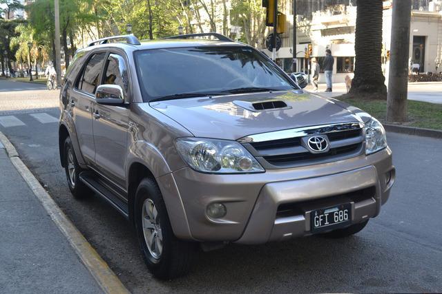 Vendo Toyota Hilux Sw4 Srv 2007 81000km