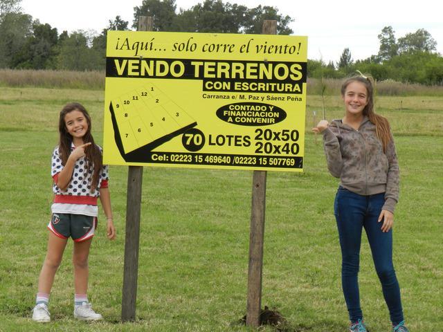 Vendo Lotes en Buenos Aires