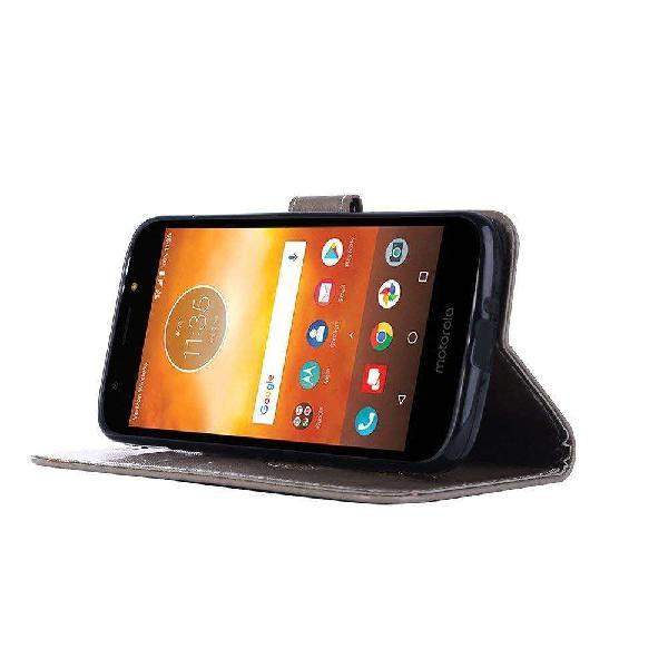 Funda Flip Cover Ejecutivo Samsung A8 2018 Tarjetero Eco