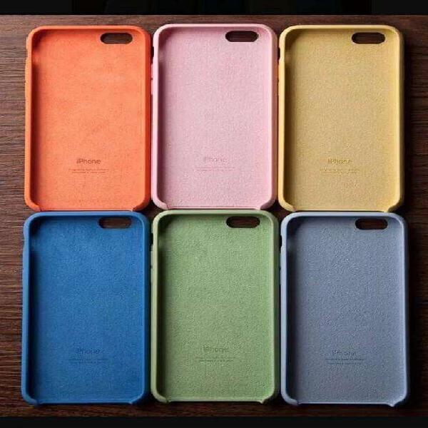 Funda Silicona iPhone Silicone Case 54 Colores ! Original