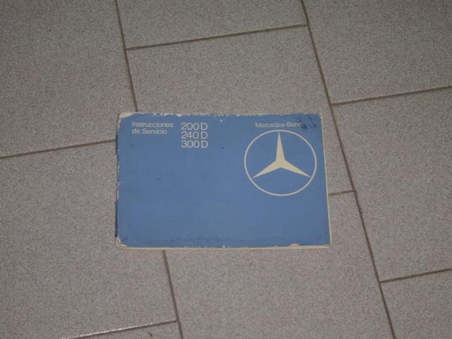 Manual Auto Mercedes Benz W123 diesel