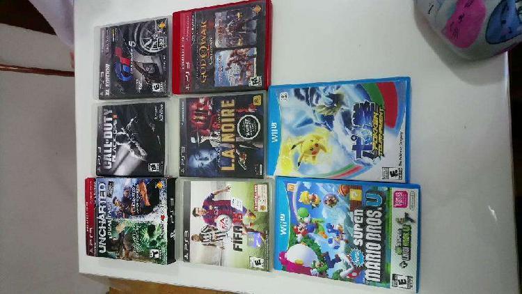 Juegos de Ps3 Y Wii U