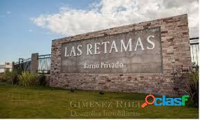 Vendo Lotes en Las Retamas! Excelente ubicación.