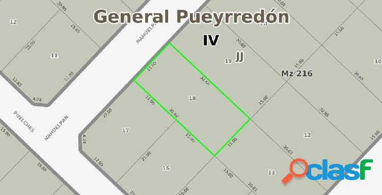 LOTE en Bosque Peralta Ramos de 460 m2