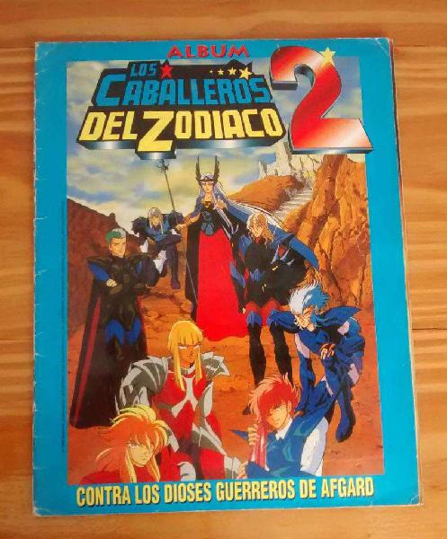Album de Figuritas Los Caballeros Del Zodiaco 2 Saint Seiya