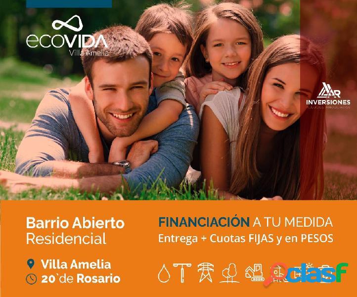 LOTES SUSTENTABLES FINANCIADOS - 20 MINUTOS DE ROSARIO -