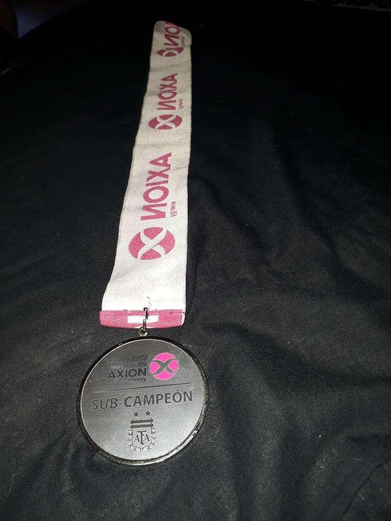 Medalla San Lorenzo Sub Campeon