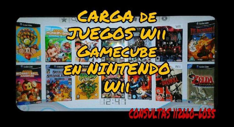 JUEGOS GAMECUBE para Wii. CAP. FED.