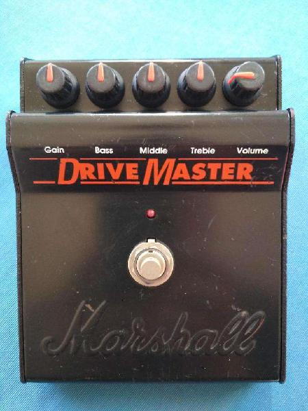 Pedal Drive Master Marshall Guitarra Made In England