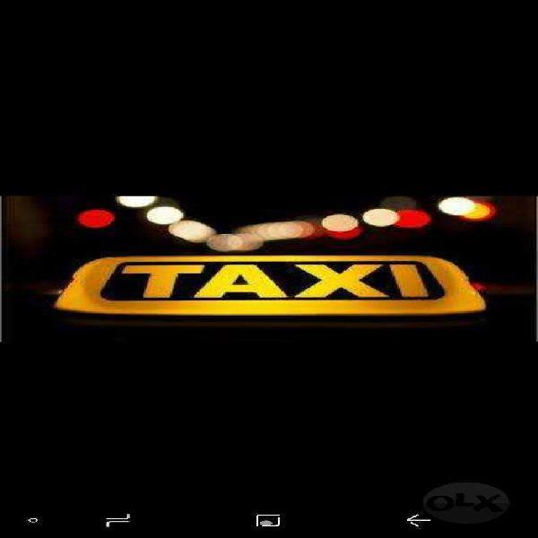 Busco Chofer Taxi a Cargo Suran O Siena