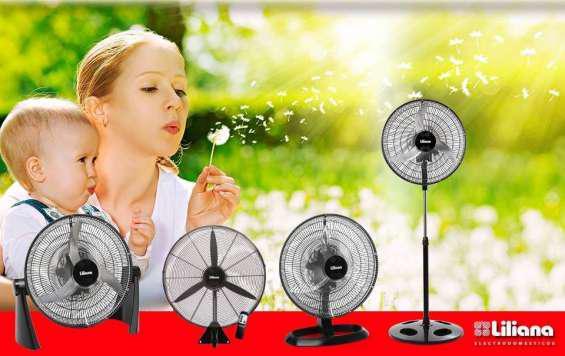Repuestos para ventiladores: consulten por accesorio en