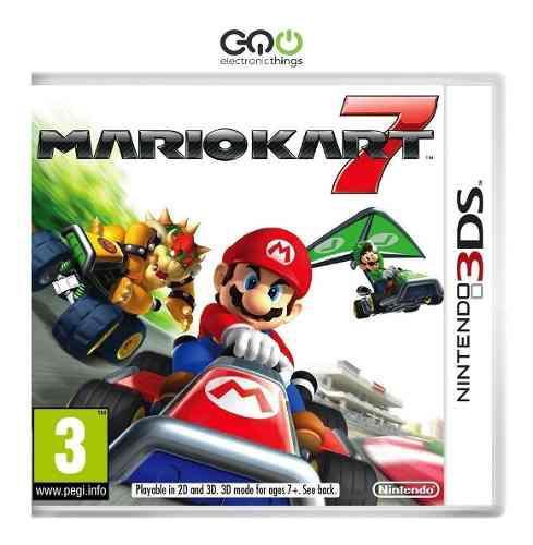 Juego Nintendo 3ds Mario Kart 7 Fisico Nuevo