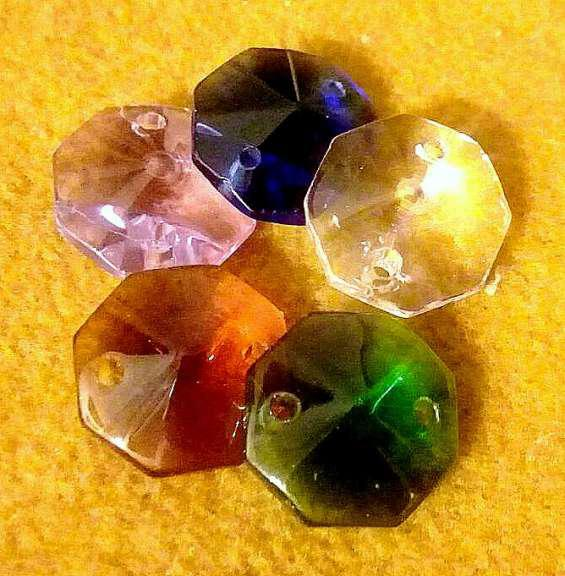 Silant ultimos 6 x $ 299.- botones 1,5 caireles cristal