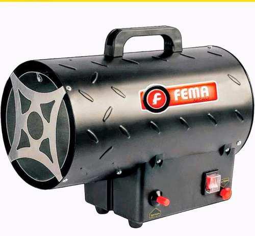 Caloventor A Gas Cañon Con Turbina 10 Kw P/ Garrafa Sm