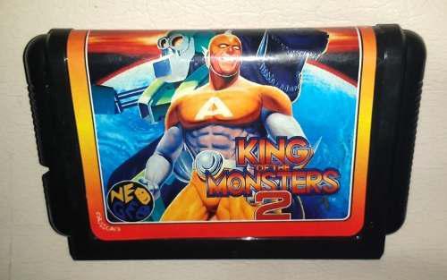 Cartucho De Juego King Of The Monsters 2 - Para Sega