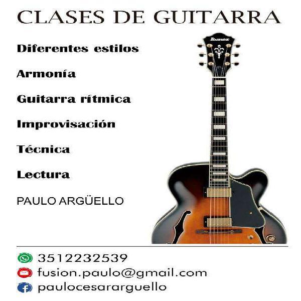 Clases de Guitarra en Cordoba