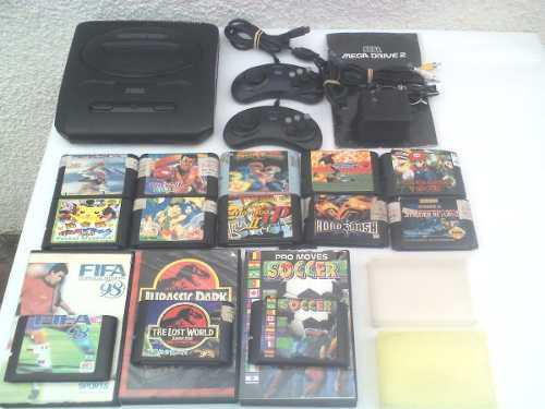 Consola De Juegos Años 90s Con Juegos Funcionando