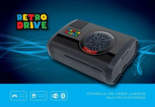 Consola De Videojuegos Retrodrive 64gb + 2 Joy Usb