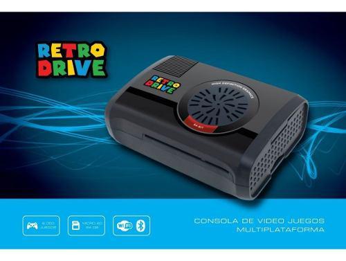 Consola De Videojuegos Retrodrive 64gb + 2 Joy Usb + 64gb