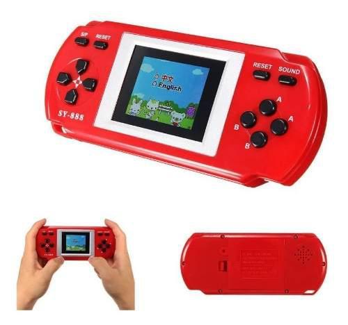 Consola Portatil De Videojuegos 288 En 1 Family Game Sy-888b