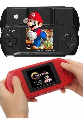 Consola Portatil Juegos Pvp Station 8bits Retro Tv Mario3