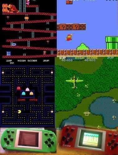 Consola Portátil Family 8bits Arcade 328 Juegos + Cuotas