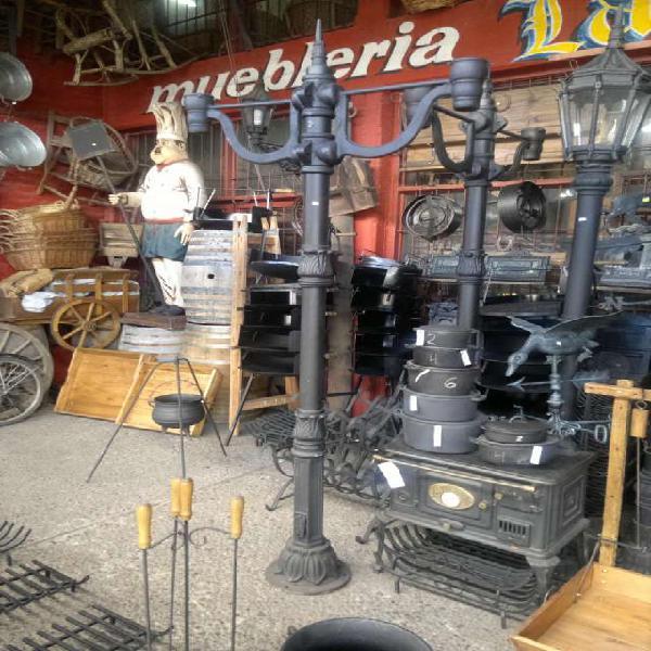 Farolas de fundición de hierro para exterior en Don