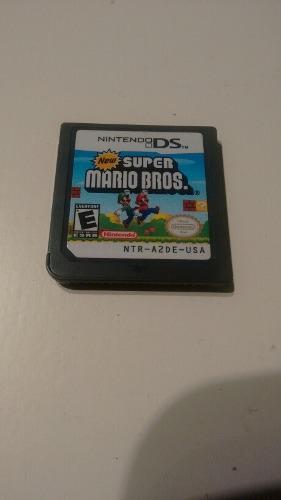 Juego De Nintendo Ds New Super Mario Bros