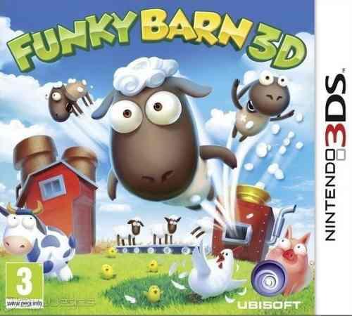 Juego Funky Barn Para Nintendo 3ds Nuevo Sellado Oferta