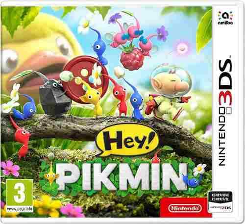Juego Hey Pikmin Nintendo 3ds Físico Sellado!