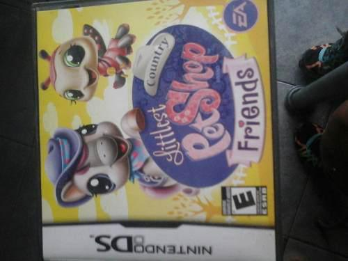Juego Nintendo Ds Littlest Pet Shop Friends $ 550