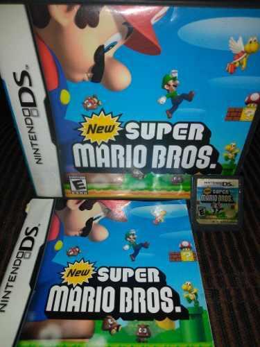 Juego Nintendo Ds New Super Mario Bros.