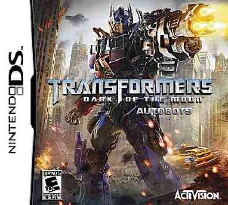 Juego Transformers Dark Of The Moon Autobots Nintendo Ds