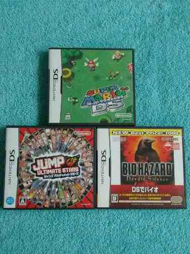 Juegos Nintendo Ds / 3ds / Dsi Originales Raros - Mario