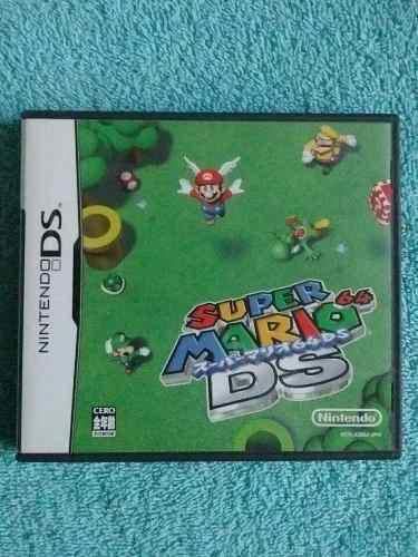 Juegos Nintendo Ds / 3ds Super Mario 64 Ds Original Japones