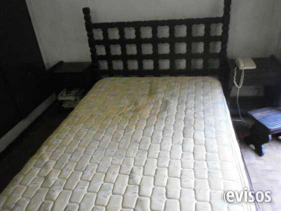 Juegos de muebles frailero negro dormitorio en Ramos Mejía