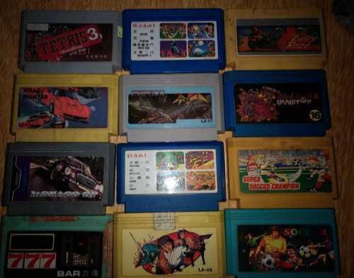 Lote De 12 Juegos Family Cartuchos
