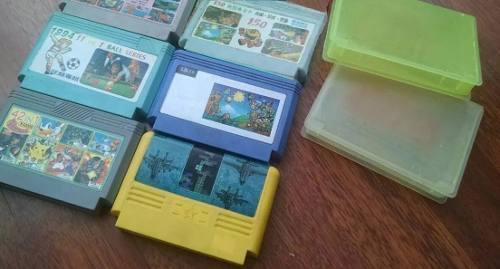 Lote De 3 Cartuchos Juegos Para Family Game - Usado