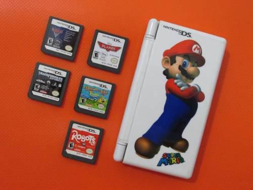 Lote Juegos Nintendo Ds + Estuche De Regalo