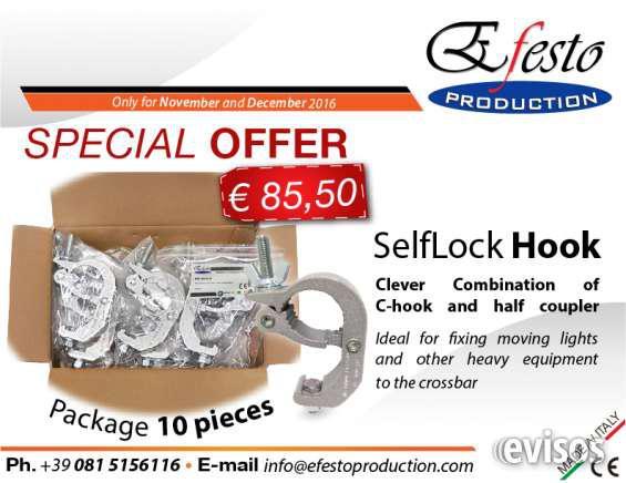 Selflock hook