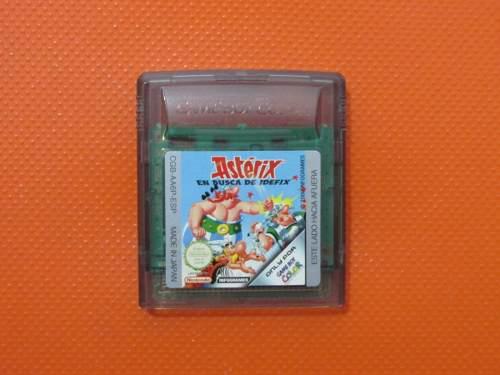 Asterix En Busca De Idefix Original Para Nintendo Game Boy