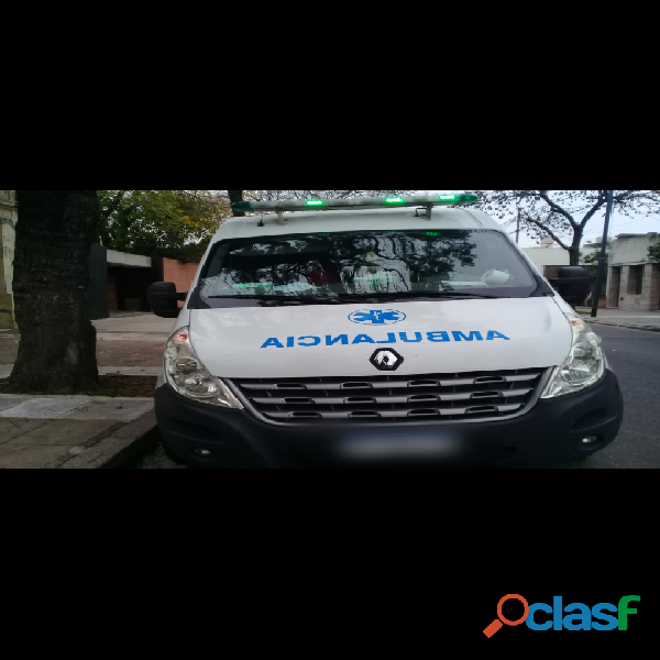 Chofer de ambulancia urgente