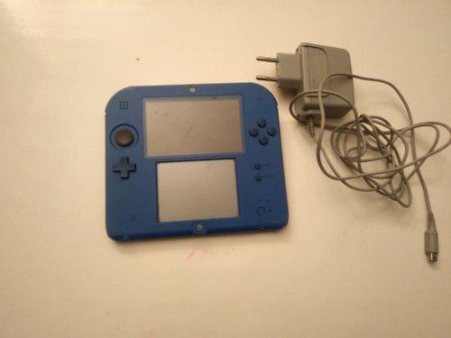 Combo Nintendo 2ds En Perfecto Estado+cargador+4 Juegos!!!!