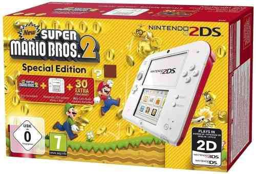 Consola Nintendo 2ds New Super Mario Bros 2 / Makkax