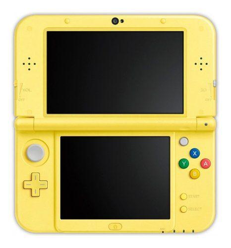 Consola Portatil Nintendo 3ds Xl Pikachu Yellow Edition Fact