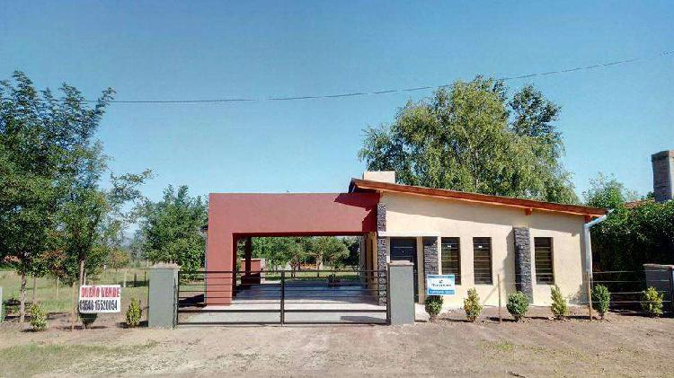 Dueño Vende casa a estrenar en Villa Rumipal Calamuchita