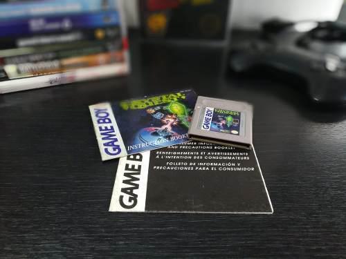 Juego Game Boy Crystal Quest + Manual Gb Game Boy Nintendo