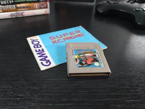 Juego Game Boy Super Rc Pro Am + Manual Game Boy Nintendo