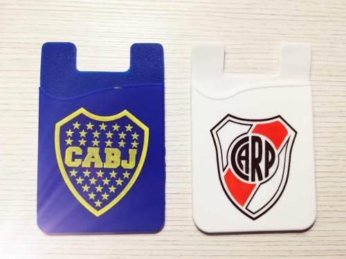 Merchandising Boca/river-accesorio Para Celular!