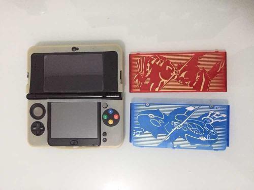 New Nintendo 3ds Flasheada. Cargador Y Estuche Completa Leer